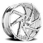 17x9 Advanti Racing 79b Tempête S1 Matte Black Wheels 5x112 (45mm) Jeu De 4