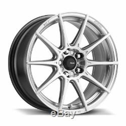 17x9 Advanti Racing Tempête S1 5x114.3 +35 Hyper Argent Éclatant Wheels (set Of 4)