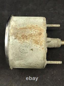 1960 Stewart Warner 160mph Mechanical Speedometer Gauge 3-3/8 Works