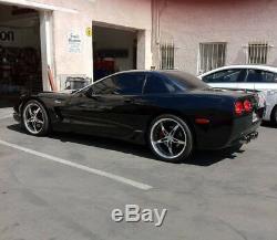 19 Roues Mrr Gt5 Adaptées À La Chevrolet Corvette C5, Ensemble De 4 Plats Profonds 19x8,5 / 19x9,5