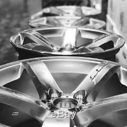 19x8.5 /19x9.5 5x120 Mrr Vp5 Silver Jeu De 19 Jantes Concaves Pour Bmw E46 M3