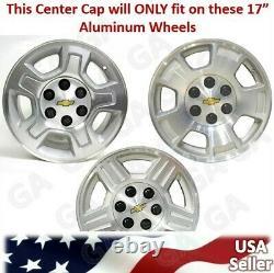 1 Nouveau Silverado Suburban Tahoe 17 Aluminium Wheel Center Hub Caps Rim Cover 959