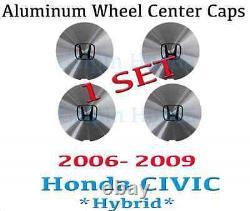 1 Set Genuine Oem Honda CIVIC Hybrid / Hf Alloy Wheel Center Cap 2006-2014