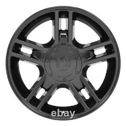 20 Black 3410 Roues Et Pneus Goodyear Set Fit Ford F150 Harley Style 20x9