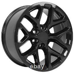 20 Black 5668 Roues Goodyear Pneus Tpms Set Convient À Gmc Sierra Yukon Cv98 20x9