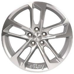 20 Cv29 Roues Fit Chevrolet Camaro Ss 20x8.5 / 20x9.5 Argent Set 4 Usinées