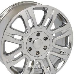 20 Wheel Tire Set Fit Ford Expedition Style Chrome Rims 3788 Gy Pneus