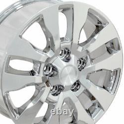 20 Wheel Tire Set Fit Toyota Tundra Style Chrome Rims 69533 Gy Pneus