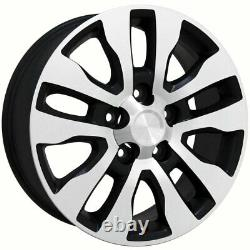20 Wheel Tire Set Fit Toyota Tundra Style Noir Mach'd Rims Gy Pneus 69533