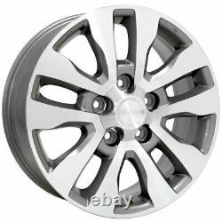 20 Wheel Tire Set Fit Toyota Tundra Style Silver Rims Mach'd 69533 Gy Pneus