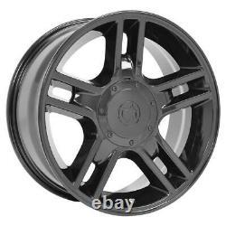 20x9 Black 3410 Roues Et Pneus Goodyear Set Fit Ford F150 Rims De Style Harley