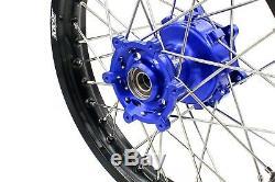 21/18 Enduro Kke Cush Roues Motrices Jantes Set Pour Suzuki Drz400sm Drz400s Drz400e