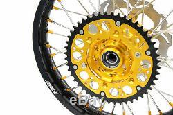 21/18 Enduro Kke Jantes Set Suzuki Drz400sm 2005 Or Titiller 310mm Disc