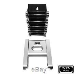 2x72 Ceinture Meuleuse Petit Porte-roue Set Avec 2 Roues Déflecteur Et Support