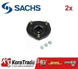 2x Sachs 802147 Amortisseur Arriere Top Mount Set Coussin