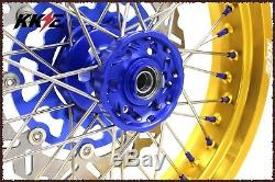 3.5 Kke / 4,2517 Supermoto Jantes Set Pour Suzuki Drz400sm 2005-2019