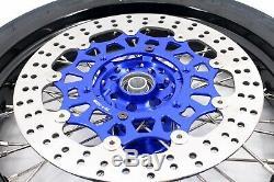 3.5 Kke / 4,2517 Supermoto Roues De Jantes Cst Pneus Pour Suzuki Drz400sm 2005-2019