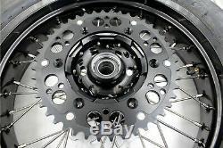 3.5 Kke / 4,25 Cst Tire Fit Suzuki Drz400sm 2005-2019 Supermoto Jantes Set