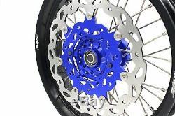 3,5 Kke / 4.25 Supermoto Cush Roues Motrices Jantes Jeu Pour Suzuki Drz400sm 310mm Disc