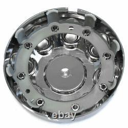 4 17 Chrome 8 Lug Wheel Center Hub Caps Rim Nut Bolt Couvre Pour Dodge Ram Truck