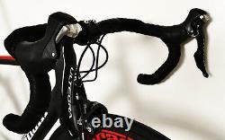 50 Petit Stradalli Fibre De Carbone Wheelset Bitonto Shimano Ultegra Route 6800
