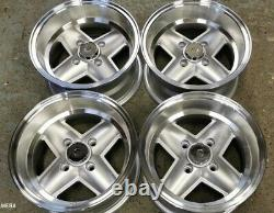 7x 13 Revolite Wheels Classic Ford Set Of 4 Silver Ex-display/marked