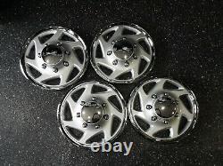 95-18 Ford F250 F350 E250 E350 Econoline Van 16 Hubcaps Couvertures De Roue 9416c Set