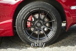 Advanti Racing Storm S1 Wheels 15x7 (35, 4x100, 73.1) Black Rims Set Of 4