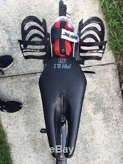 Argon 18 E116 Triathlon Vélo Ultegra Di2, Excellent État, No Essieux
