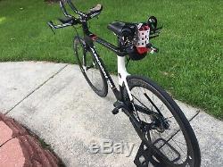 Argon 18 Temps E116 Trial / Triathlon Vélo Plein Ultegra Di2 Reynolds Pas Wheelset