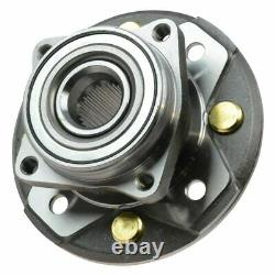 Avant CV Axle Shafts & Wheel Hub Bearing Assemblys Set Of 4 For 90-93 Accord