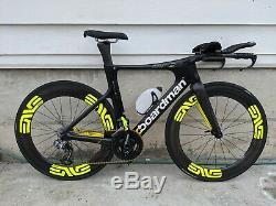 Boardman Tte 9.8 Triathlon Vélo Taille Petit (51cm) Enve Ses 7.8 Wheelset Di2