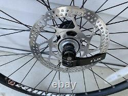 Bontrager Ranger Mtb Rims Wheelset Shimano M495a Hubs Sm-rt53 Disques 9 Vitesse
