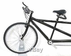 Cannondale Tandem Moyen / Petit 50 / 45cm En Aluminium 3x9 LX T520 Mavic Roues