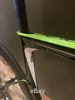 Cannondale Tranche Triathlon Vélo 51 (petit) Carbon Superteam Wheelset! Tri