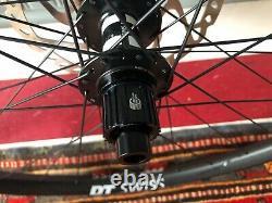 Dt Swiss Ex1700 Roues Avec Rotors Shimano Sm-rt66 (203/180), Micro Spline 350