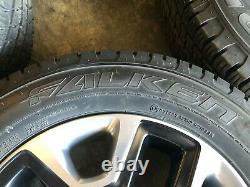 Ensemble De 4, 17 Jeep Compass Trailhawk Wheels And Tires, Like New Factory Oem