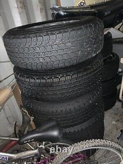 Ensemble De 5 Jeep Wrangler Jl 17 Factory Wheels And Tires New Takeoffs Oem