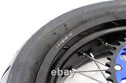 Ensemble De Pneus Kke Supermoto Rims 3.5/4.25 Ajustement Suzuki Drz400sm 2005-2020 Dirt