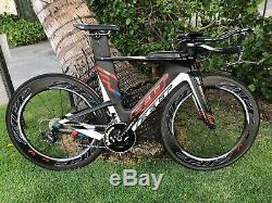 Felt Ia3 / Shimano Dura Ace / 51cm / Zipp 808 Firecrest Wheelset Tt / Triathlon