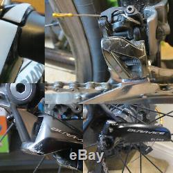 Giant Tcr Advanced Sl Isp Complet Dura Ace 9000 C24 Wheelset 9100 + Pédales Enve Bar