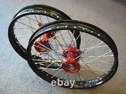 Husqvarna Sm/te/tc/txc 250/450/510 Cnc Wheels Set 2000-2013 Dirt Bike M Rmu01