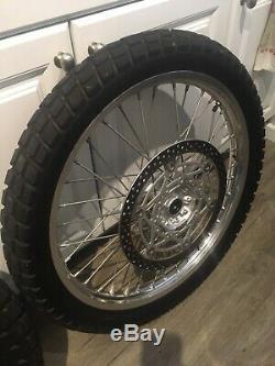 Jeu De Roues Drz400 S Drz400sm Enduro Supermoto Oem Tire Drz