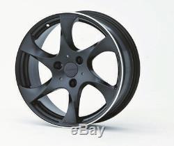 Jeu De Roues En Alliage Léger Lorinser Speedy Black 7,0x17 + 8,5x17 Smart Roadster