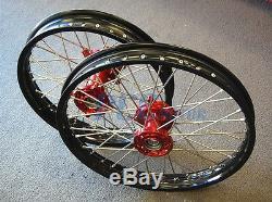 Jeu De Roues Husqvarna Sm / Te / Tc / Txc 250/450/510 Cnc 2000-2013 Bike H Rmu01