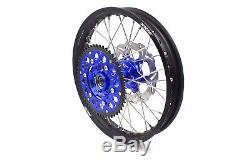 Jeu De Roues Kke 21/18 Dirtbike Enduro Fit Suzuki Drz400sm 2005-2018 310mm Disc