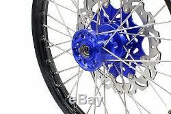 Jeu De Roues Kke 21/18 Enduro Cush Drive Pour Disque Suzuki Drz400sm 2005-2018 310mm