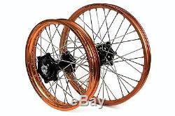 Jeu De Roues Sm Pro Motocross Pour Vélos Ktm Sx Et Sx-f Et Exc-f Neufs