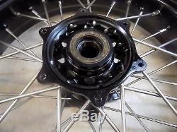 Jeu De Roues Suzuki Drz400s Warp 9 Supermoto Avec Pneus Et Disques Drz 400sm 2013 # 5
