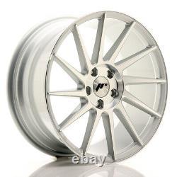 Jr Wheels Jr22 18x8,5 Et40 5x112 5x114 Silver Set 4 Cerchi En Lega 4 Roues